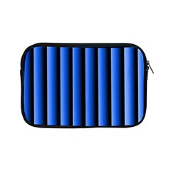 Blue Lines Background Apple Ipad Mini Zipper Cases