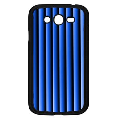 Blue Lines Background Samsung Galaxy Grand Duos I9082 Case (black)