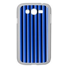 Blue Lines Background Samsung Galaxy Grand Duos I9082 Case (white)
