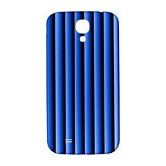 Blue Lines Background Samsung Galaxy S4 I9500/i9505  Hardshell Back Case