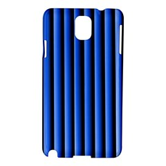 Blue Lines Background Samsung Galaxy Note 3 N9005 Hardshell Case