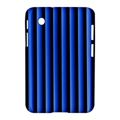 Blue Lines Background Samsung Galaxy Tab 2 (7 ) P3100 Hardshell Case