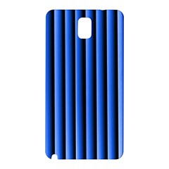 Blue Lines Background Samsung Galaxy Note 3 N9005 Hardshell Back Case