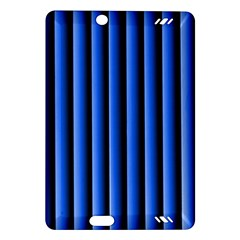 Blue Lines Background Amazon Kindle Fire Hd (2013) Hardshell Case