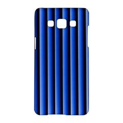 Blue Lines Background Samsung Galaxy A5 Hardshell Case
