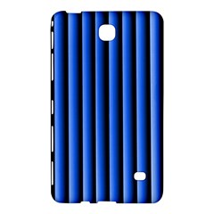 Blue Lines Background Samsung Galaxy Tab 4 (7 ) Hardshell Case