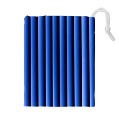 Blue Lines Background Drawstring Pouches (extra Large)