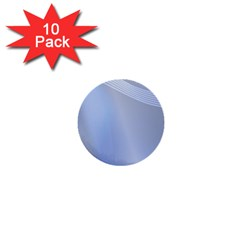Blue Star Background 1  Mini Buttons (10 pack)