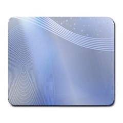 Blue Star Background Large Mousepads
