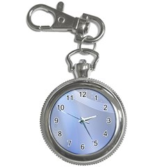 Blue Star Background Key Chain Watches