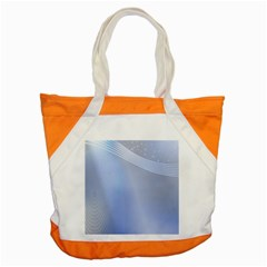 Blue Star Background Accent Tote Bag