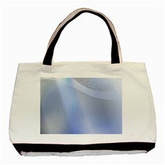 Blue Star Background Basic Tote Bag (Two Sides)
