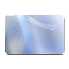 Blue Star Background Small Doormat