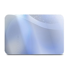 Blue Star Background Plate Mats