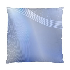 Blue Star Background Standard Cushion Case (two Sides)