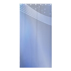 Blue Star Background Shower Curtain 36  x 72  (Stall)