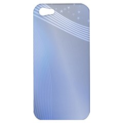 Blue Star Background Apple Iphone 5 Hardshell Case