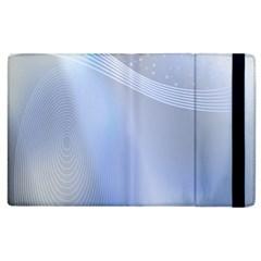 Blue Star Background Apple iPad 2 Flip Case