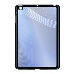 Blue Star Background Apple Ipad Mini Case (black)