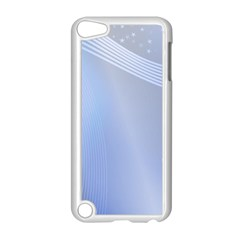 Blue Star Background Apple Ipod Touch 5 Case (white)