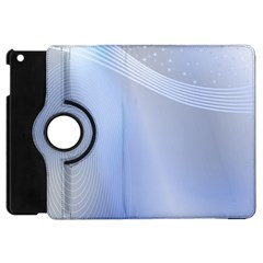 Blue Star Background Apple Ipad Mini Flip 360 Case