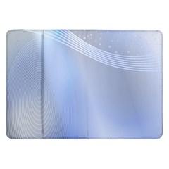 Blue Star Background Samsung Galaxy Tab 8 9  P7300 Flip Case