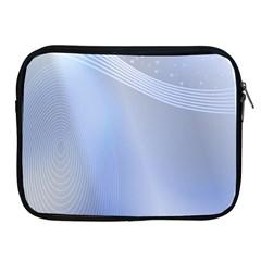 Blue Star Background Apple Ipad 2/3/4 Zipper Cases