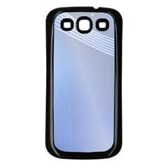 Blue Star Background Samsung Galaxy S3 Back Case (black)