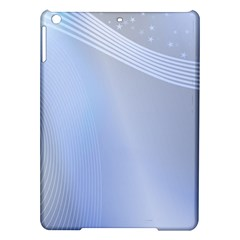 Blue Star Background iPad Air Hardshell Cases