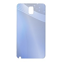 Blue Star Background Samsung Galaxy Note 3 N9005 Hardshell Back Case
