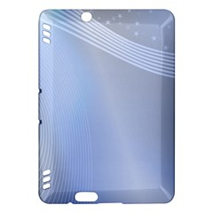 Blue Star Background Kindle Fire Hdx Hardshell Case