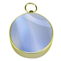 Blue Star Background Gold Compasses