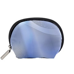 Blue Star Background Accessory Pouches (small)