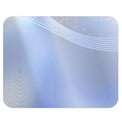 Blue Star Background Double Sided Flano Blanket (medium)