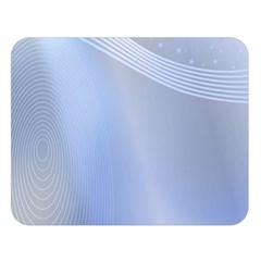 Blue Star Background Double Sided Flano Blanket (large)