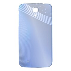 Blue Star Background Samsung Galaxy Mega I9200 Hardshell Back Case