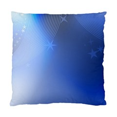 Blue Star Background Standard Cushion Case (one Side)