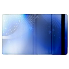 Blue Star Background Apple Ipad 3/4 Flip Case