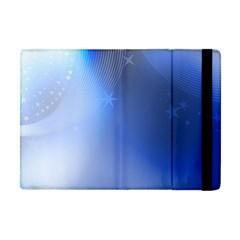 Blue Star Background Apple Ipad Mini Flip Case