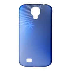 Blue Star Background Samsung Galaxy S4 Classic Hardshell Case (pc+silicone)