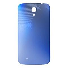Blue Star Background Samsung Galaxy Mega I9200 Hardshell Back Case