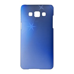 Blue Star Background Samsung Galaxy A5 Hardshell Case