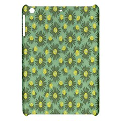 Another Supporting Tulip Flower Floral Yellow Gray Green Apple Ipad Mini Hardshell Case