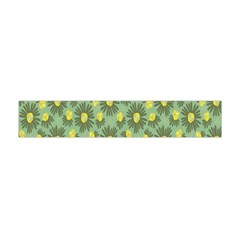 Another Supporting Tulip Flower Floral Yellow Gray Green Flano Scarf (Mini)