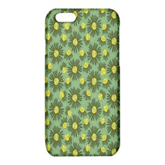 Another Supporting Tulip Flower Floral Yellow Gray Green iPhone 6/6S TPU Case