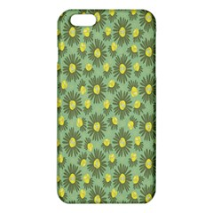 Another Supporting Tulip Flower Floral Yellow Gray Green iPhone 6 Plus/6S Plus TPU Case