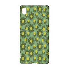 Another Supporting Tulip Flower Floral Yellow Gray Green Sony Xperia Z3+