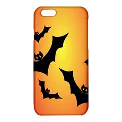 Bats Orange Halloween Illustration Clipart iPhone 6/6S TPU Case