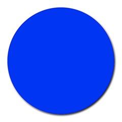 Blue Color Round Mousepads