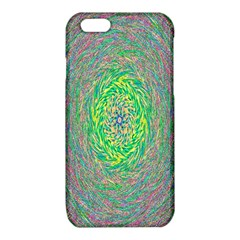 Abstraction Illusion Rotation Green Gray iPhone 6/6S TPU Case
